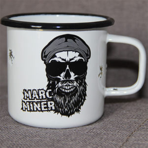 Marc Miner enamel cup (limited 2020 edition)