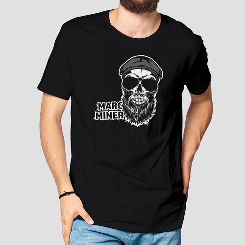 Marc Miner male T-Shirt